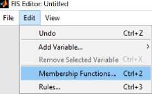 تعریف توابع عضویت