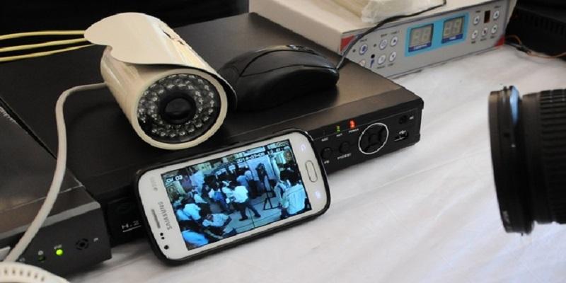 انتقال تصویر دوربین مدار بسته