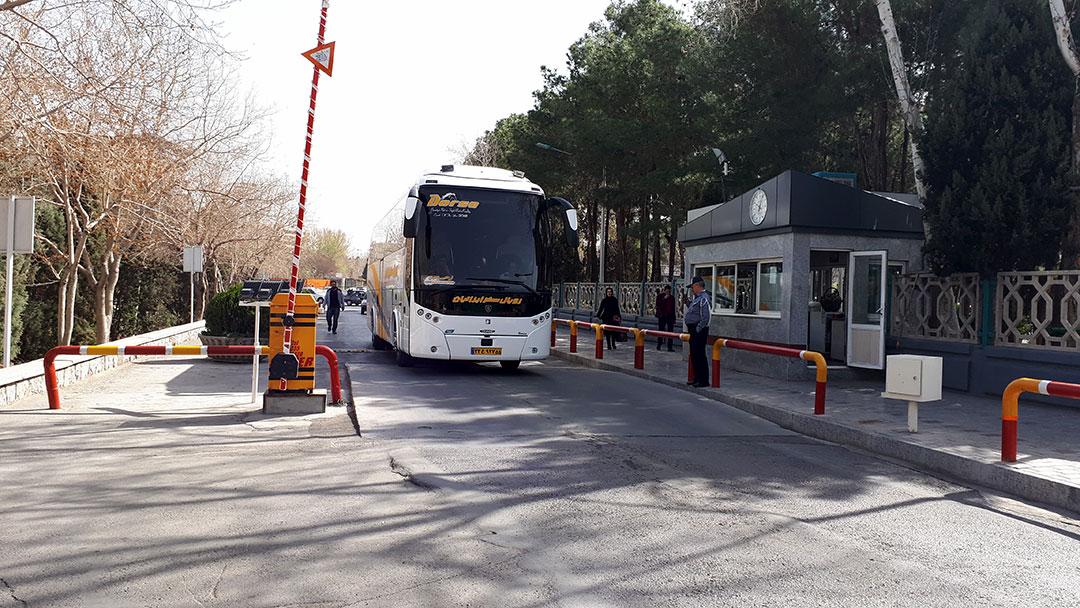 اجرای سامانه کنترل تردد بهسان در پایانه مسافربری کاوه شهر اصفهان