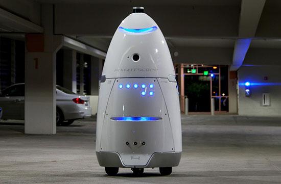 ربات مشهور به Knightscope یک ربات با کاربرد عمومی می باشد که در طول روز بهعنوان راهنما و شبها به عنوان نیروی امنیتی عمل می کند