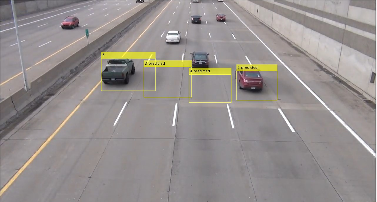 تشخیص و شمارش خودروهای در حال حرکت