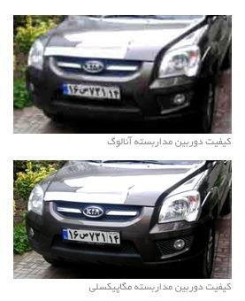 تفاوت تصویر دوربین آنالوگ با دوربین دیجیتال