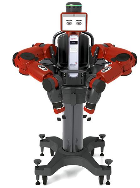 Baxter یک ربات جدید است که در سال 2012 معرفی شد.