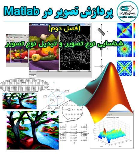 فصل دوم - شناسایی نوع تصویر و تبدیل نوع تصویر در متلب