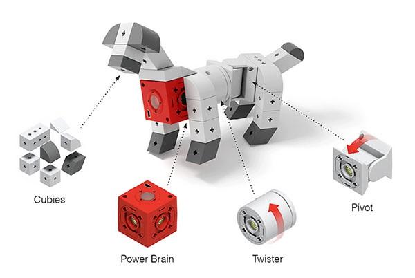 نمونه ای از ربات ماژولار