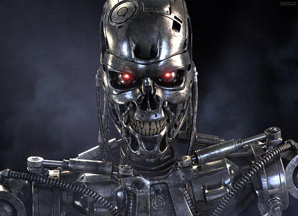 ربات T800 در مجموعه فیلم های ترمیناتور