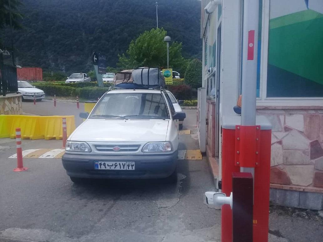 پارکینگ تله کابین رامسر