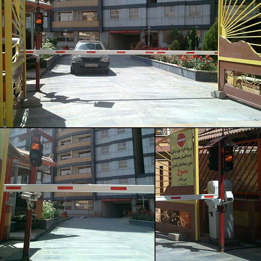 اجرای سامانه مدیریت پارکینگ بهسان در مجتمع های مسکونی حکیم شفایی، امین و آفتاب
