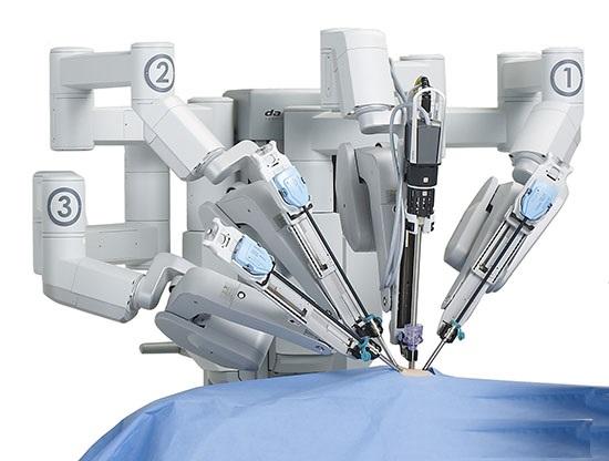 یک ربات جراحی لاپاراسکوپی
