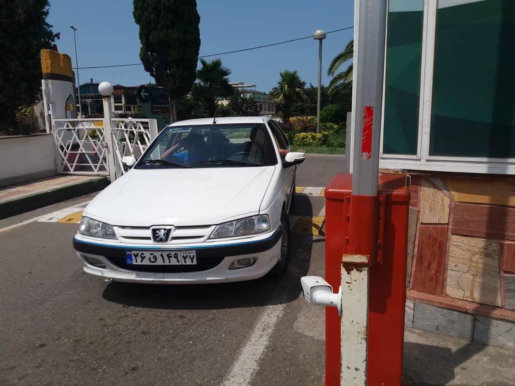سامانه مدیریت پارکینگ بهسان اجراشده در تله کابین رامسر
